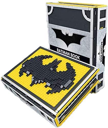 QSSQ Batman Superheroes Bausteine Für Kinder Bausteine Spielzeug Mit 52 Minifiguren Kind 2420Pcs.