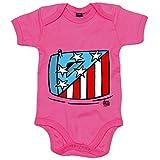 Body bebé Atlético de Madrid verano playa el escudo hinchable - Rosa, 12-18 meses