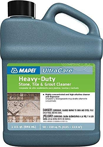 Mapei Ultracare Heavy-Duty Stone, Tile & Grout Cleaner