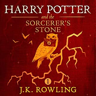 Harry Potter and the Sorcerer's Stone, Book 1                   Written by:                                                                                                                                 J.K. Rowling                               Narrated by:                                                                                                                                 Jim Dale                      Length: 8 hrs and 33 mins     1,959 ratings     Overall 4.9