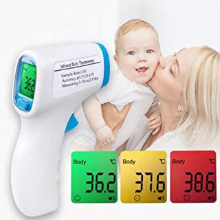 WLH Digital Thermometer Body Temperature Front Fever Measurement Infrared Thermometer Non-Contact Infrared IR Baby & Adult