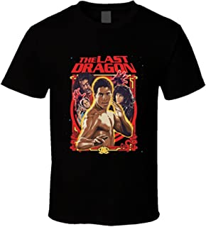 The Last Dragon Martial Arts Retro 80's Action Movie T Shirt