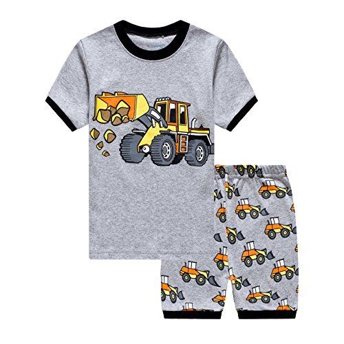 EULLA Tarkis Jungen Pyjama Schlafanzüge kurz Zweiteiliger Schlafanzug, 3-bagger, 116 (Herstellergröße:140)