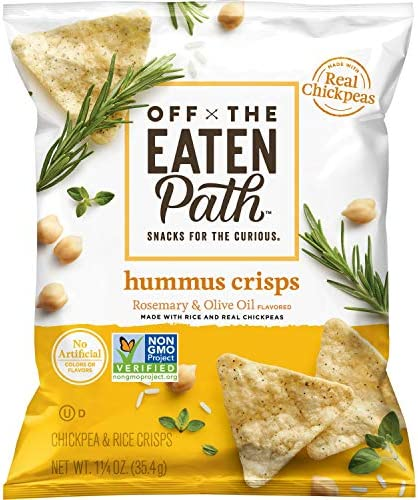 Off The Eaten Path Hummus Chips Rosemary Olive Oil 1 25oz Pack of 16 product image