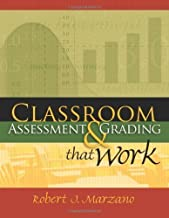 Classroom Assessment & Grading That Work 1st (first) Edition by Marzano, Robert J. published by Association for Supervision & Curriculum Deve (2006)