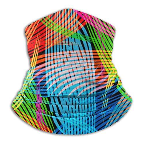 Uosliks Copricapo Modello Geometrico Astratto 10'x11.6 Sciarpa Collo Sciarpa, Cappello da Lavoro Sciarpe snoo