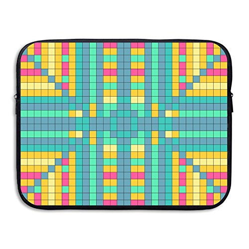Waterproof Laptop Sleeve Pocket 13 Inch Macbook Air Pro Case Bag Checkerboard Laptop Sleeve 13inch Notebook Handbag Cover