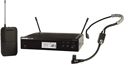 Shure BLX14R/SM35 Headworn Wireless System with SM35 Headset Microphone, Rack Mount, H10
