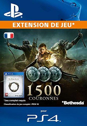 The Elder Scrolls Online : 1500 Couronnes [Extension De Jeu] [Code Jeu PSN PS4 - Compte français]