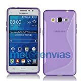 Meloenvias Funda para Samsung Galaxy Grand Prime G530H Gel TPU Diseño...