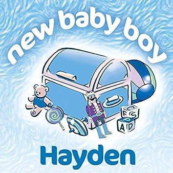 New Baby Boy Hayden