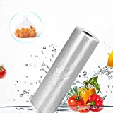 Pinshion Food Storage Bags, 16 x 20 Plastic Produce Bag on a Roll, Fruits, Vegetable, Bread, Food Storage Clear Bags, Bread and Grocery Clear Bags, 350 Bags Per Roll (1 Roll)