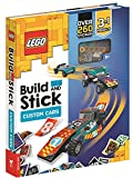 LEGO® Build and Stick: Custom Cars (Includes LEGO® bricks, book and over 260 stickers)