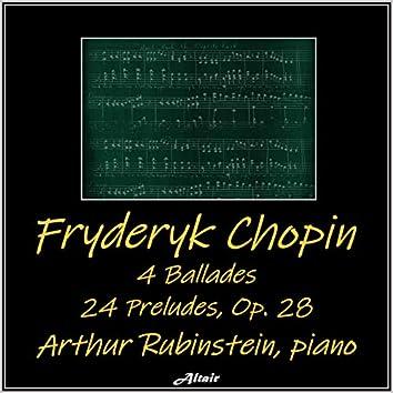 Chopin: 4 Ballades - 24 Preludes, OP.28 (Live)