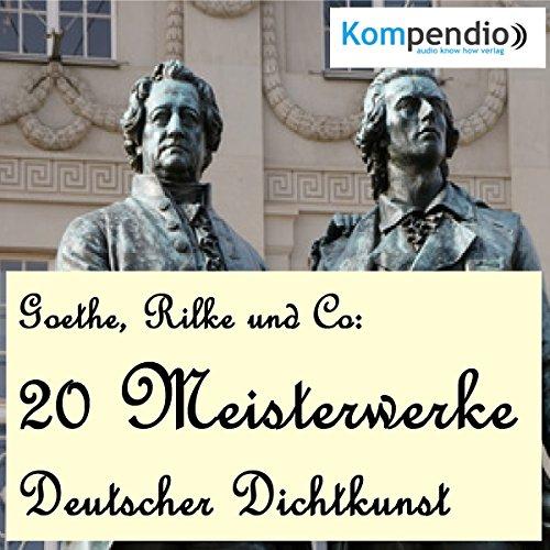 Couverture de 20 Meisterwerke Deutscher Dichtkunst