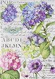 stamperia dfsa4307A4–Papel maché Arroz se envía Hortensias Y Libélula, multicolor, 29,7x 21
