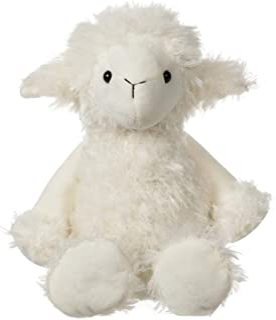 Apricot Lamb Toys Plush White Plush Lamb Stuffed Animal Soft Cuddly Perfect for Child ( White Plush Lamb 8.5 Inches)