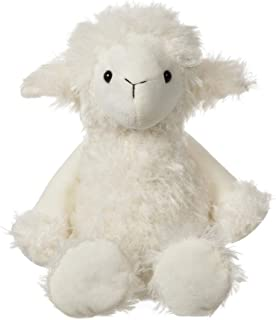 Apricot Lamb Toys Plush White Plush Lamb Sheep Stuffed Animal Soft Cuddly Perfect for Child Kids (White Plush Lamb ,8.5 Inches