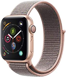 AppleWatch Series4 (GPS, 40mm) - Gold Aluminium Case with Pink Sand Sport Loop