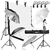 Best Continuous Lighting Kits - Emart 400W 5500K Daylight Umbrella Continuous Lighting Kit Review