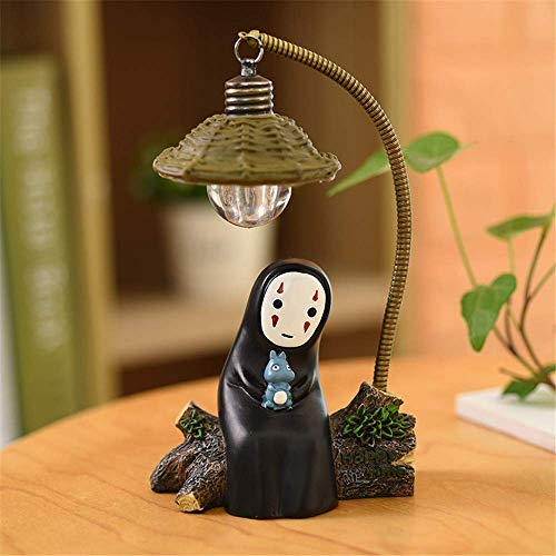 OVANUS Spirited Away No Face Man Night Lamp Mini Light Toys for Children Gift and Home Garden Decoration -Rabbit