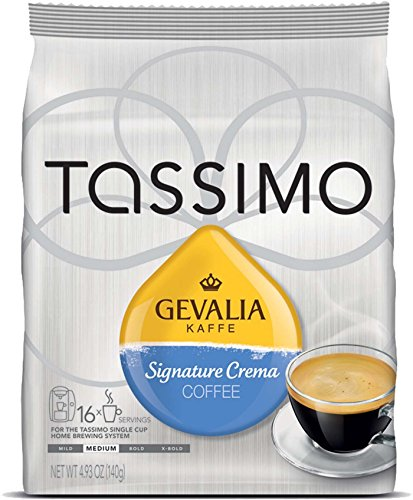Tassimo Gevalia Kaffe Signature Crema Coffee T-Discs 3 pack (48 Count)