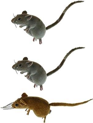 HTRN Animales para jardín Figurines para jardín 3X Animal al Aire Libre Jardín Césped Árbol Decoración Maceta Miniatura Artesanía: Amazon.es: Hogar