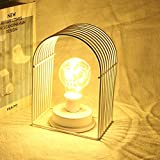MeterMall Iron House Shaped Bulb LED Copper Wire Decoration Night Light Room Layout Decoration Home Decoration