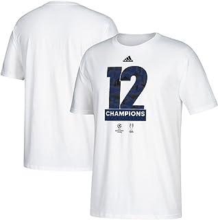 adidas Real Madrid 2017 UEFA Champions League Champs White T-Shirt