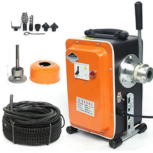 Desatascador eléctrico de canalización 750 W canalización desatascador profesional limpiador de tuberías...