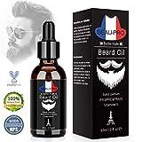 APICI Huile Barbe Bio,Huile Hydratante pour Barbe - Favorise la Pousse de la Barbe -...