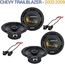 Compatible with Chevy Trailblazer 2002-2009 Factory Speaker Upgrade Harmony (2) R65 Package New