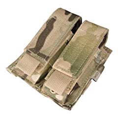 -Genuine Crye Precision Multicam Material -Holds 2 Pistol Mags -Adjustable Hook Loop Flap Country Of Origin: China