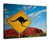 Bilderdepot24 Bild auf Leinwand   Ayers Rock - Australien