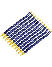 10 st plast flexibel vatten olja kylvätska rör 1/8BSPT gängslang för svarv, fräsning, vatten kylsystem