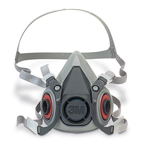 3M 6200M Med Pflegeleicht Wiederverwendbare Atemschutzmaske Masken, Größe M