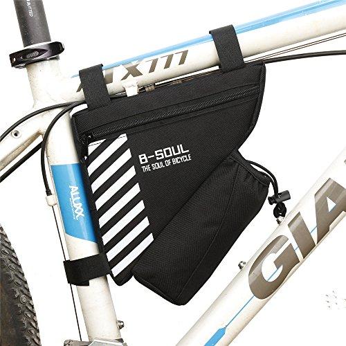 Bolsas para cuadros de bicicleta Equipo de ciclismo Bicicleta deportiva Manillar Bolsa...