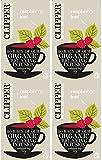 Clipper - Juego de 20 bolsitas de té orgánico con hojas de frambuesa