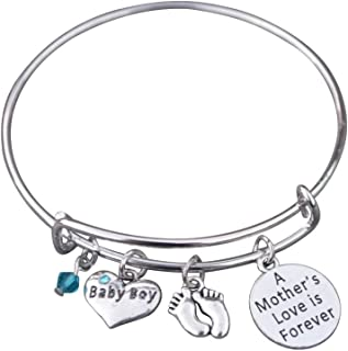 in memory of mom bracelet