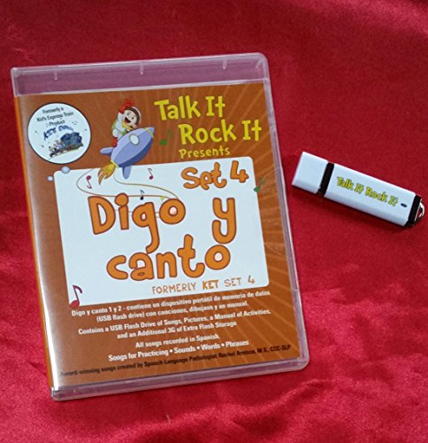 Digo y canto USB - Songs and visuals for Spanish speech and language practice
