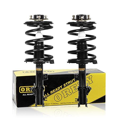 OREDY Front Struts 2PCs Driver and Passenger Side Shocks Struts 172267 172268 11762 11761 Complete Shocks Struts Coil Spring Assembly Kit