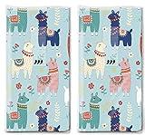 20 Taschentücher (2x 10) Taschentücher Viele bunte Lamas/Tiere/Kinder -