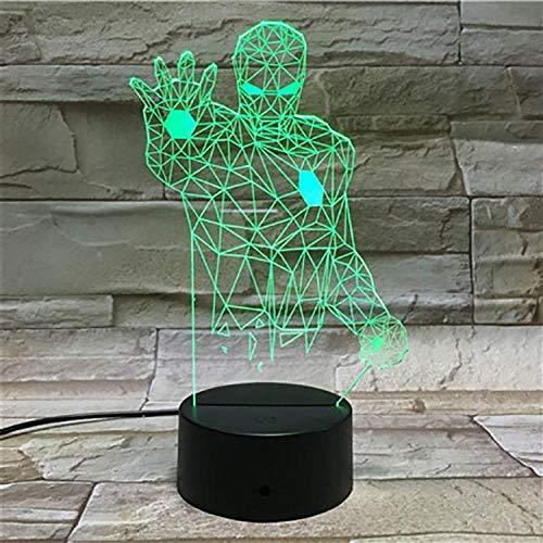 ZZFGXX Nachtlampje Spiderman Model Light 7 kleuren / licht voor kinderen / magische lantaarn, cadeau voor Nieuwjaar / slaaplicht / sfeerlicht