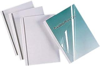GBC IB370113 Pack de 50 Couvertures de Reliure Thermique 30 mm Blanc