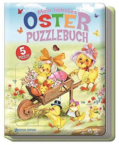 Trötsch Oster Puzzlebuch, Ostergeschenk, Kinderbuch: Beschäftigungsbuch für Kinder (Ostern / Kinderbücher, Band 2)