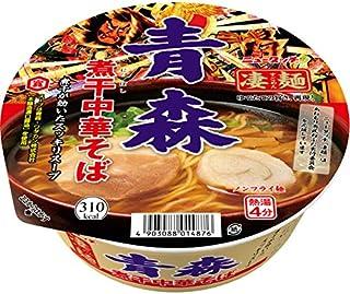 ニュータッチ 凄麺 青森 煮干 中華そば 104g ×12個