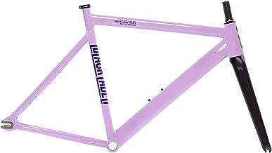 State Bicycle Black Label 6061 v2 Aluminum Frame and Fork Set, Purple, 49cm