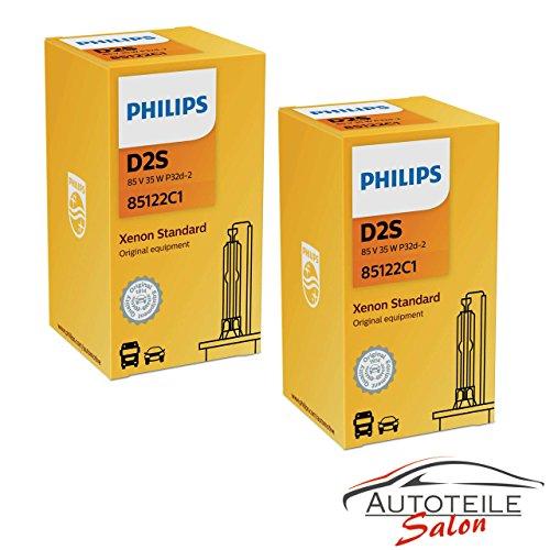 Philips 85122C1 - Juego de 2 bombillas xenón D2S (35 W)