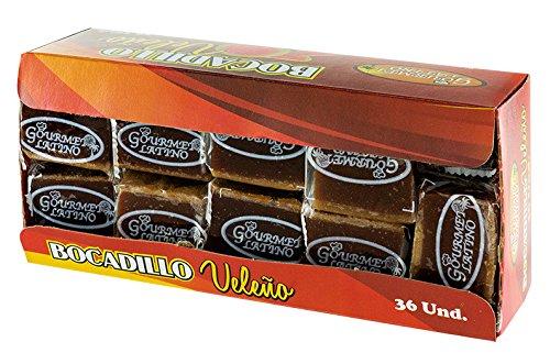 Gourmet Latino - Bocadillo de Guayaba - Ideal para Cualquiero Momento del Día - 36 Unidades - 950 Gramos Total