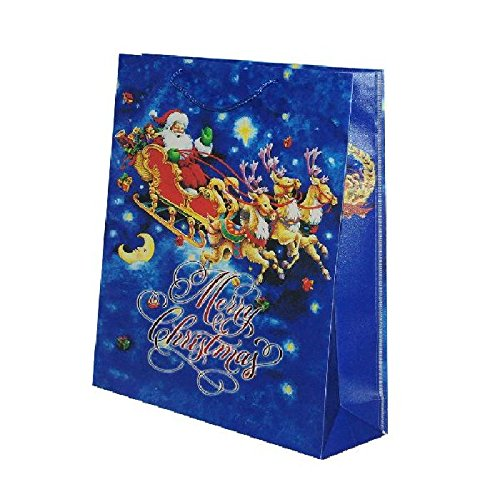 Sandy - Sac Cadeau noël traîneau 23 x 19 cm